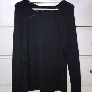 Volcom Black Knit Sweater